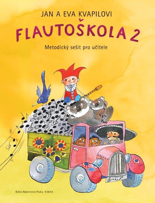 FLAUTOŠKOLA 2 - METODIKA | JAN KVAPIL | EVA KVAPILOVÁ