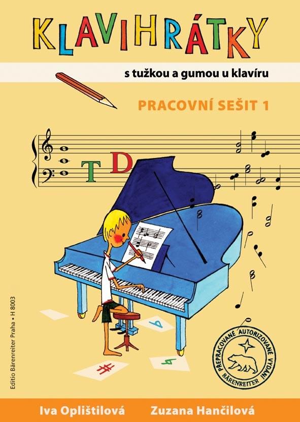 KLAVIHRÁTKY 1 | S tužkou a gumou u klavíru